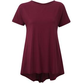 Sherpa Maya - T-shirt manches courtes Femme - rouge
